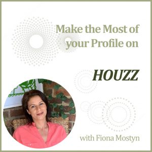 Make the most of your profile on Houzz training with marketing expert Fiona Mostyn at The Decorcafe