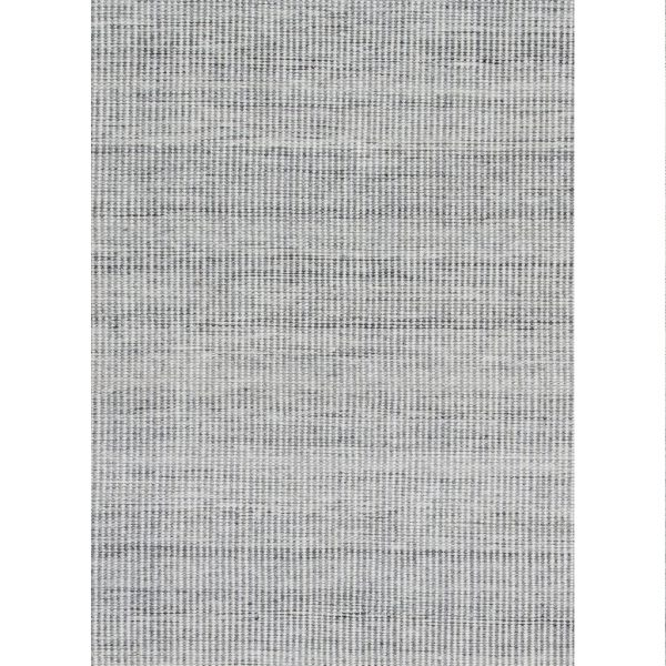 Claire Gaudion Ida Grey Rug made from recycled plastic bottles