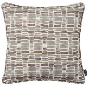 Desert Grey Printed Patterned Cushion