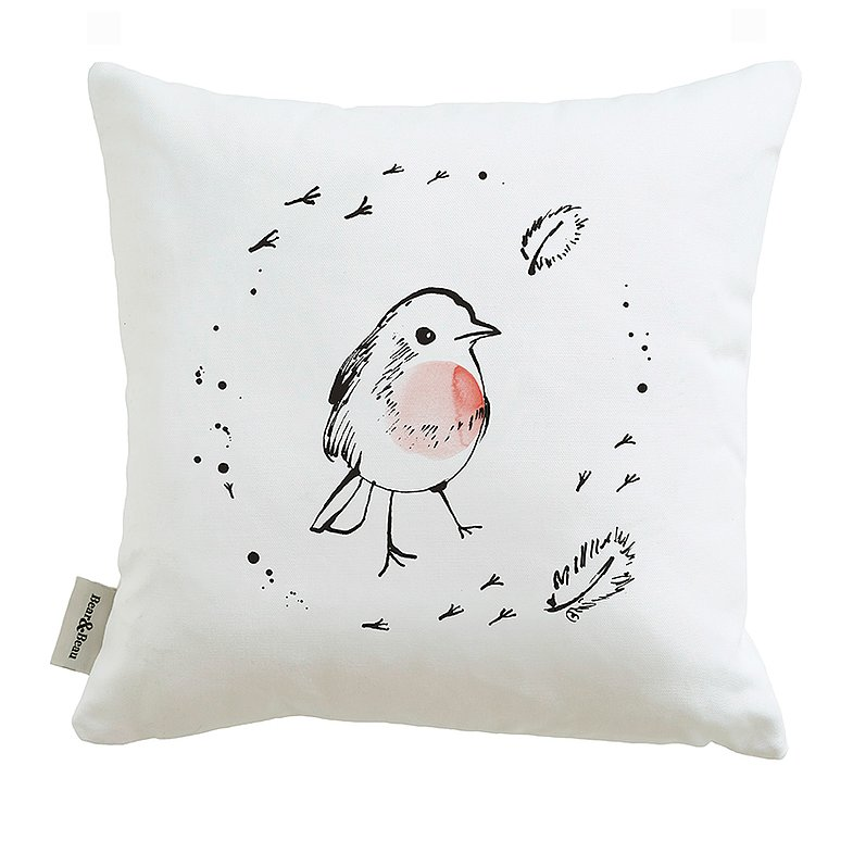 Little Robin Cushion by Bear & Beau at The Decorcafe