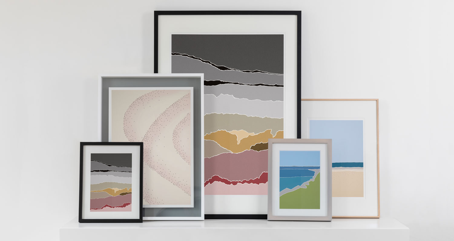 Catherine White Collection of Art Prints at The Decorcafe