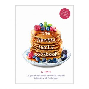 Jo Pratt The Flexible Family Cookbook at the Decorcafe - Front Cover