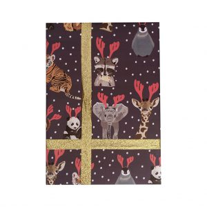 Go Wild Wrapping Paper by Lorna Syson at The Decorcafe