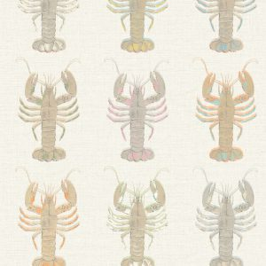 Aruba Neutral Wallpaper by Elizabeth Ockford at The Decorcafe - Detail Image