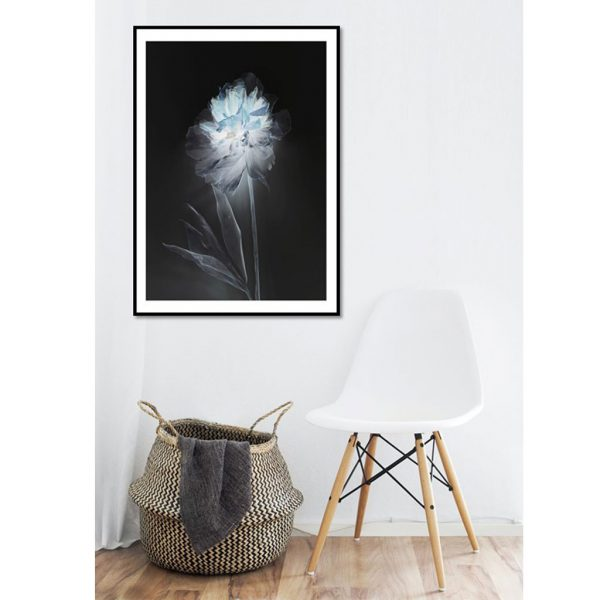 Single Peony Limited Edition Print by Morgan-Davies Art at The Decorcafe - Lifestyle Image