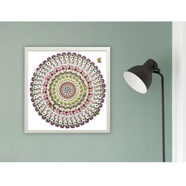 White Flowers (V) Limited Edition Print by Morgan-Davies Art at The Decorcafe - Lifestyle Image