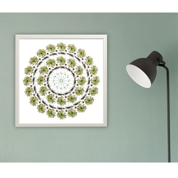 White Flowers (II) Limited Edition Print by Morgan-Davies Art at The Decorcafe - Lifestyle Image