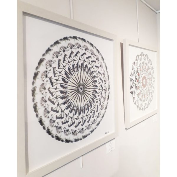 White Flowers (I) Limited Edition Print by Morgan-Davies Art at The Decorcafe - Lifestyle Image