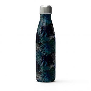 Botanic Water Bottle by Rebecca J Mills at The Decorcafe - Cutout Image