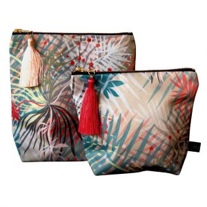 Fever Makeup Pouch by Rebecca J Mills at The Decorcafe - Cutout Image